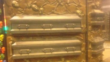 skull bone casket